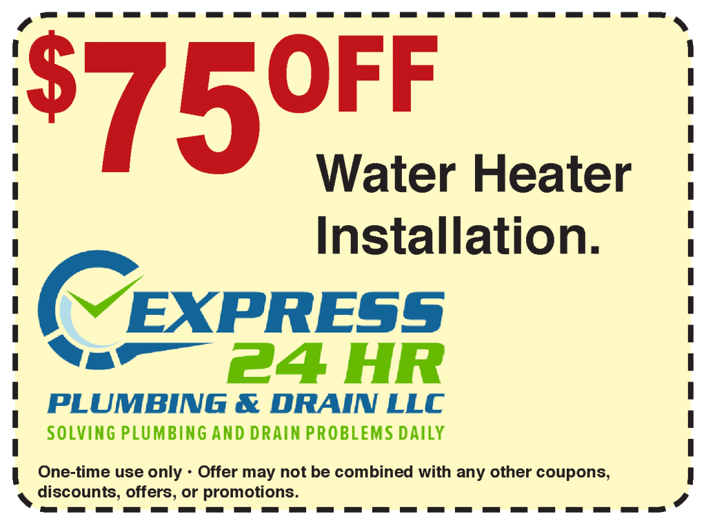 75 dollars off water heater